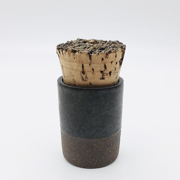 Canister w/ Bark Top | 2 oz | Brownstone/Danish