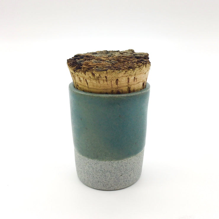 Canister w/ Bark Top | 2 oz | Greystone/Danish