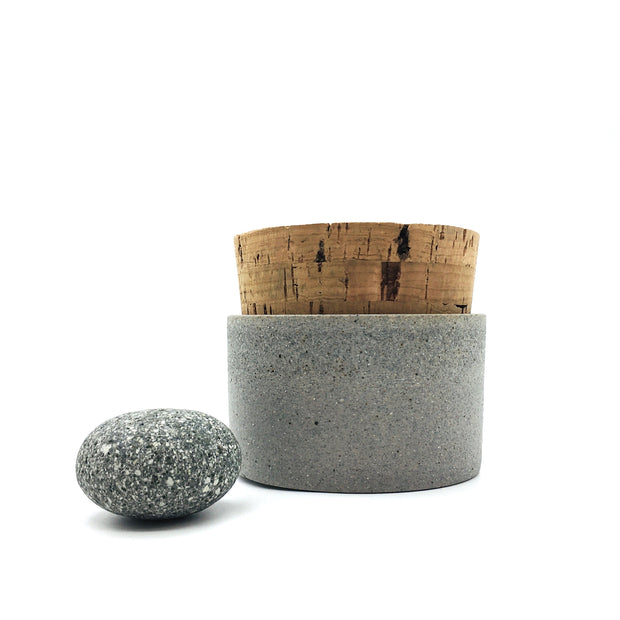 "Canister w/ Classic Cork | 3.5"" x 2"" 