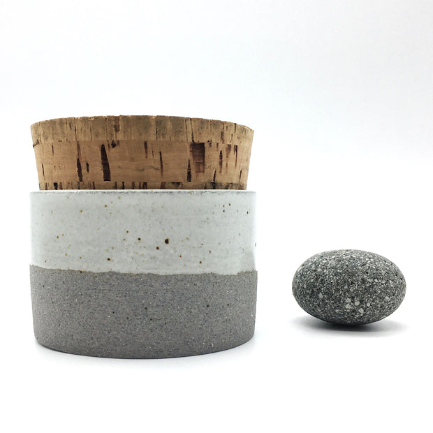 "Canister w/ Classic Cork | 4"" x 2.5"" 