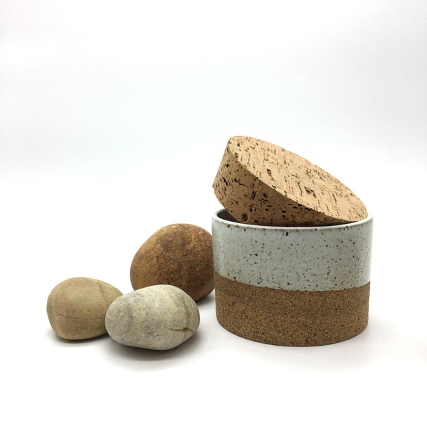 "Canister w/ Classic Cork | 3.5"" x 2.5"" 