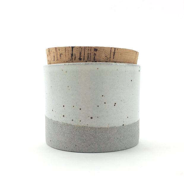 "Canister w/ Classic Cork | 3.5"" x 3"" 