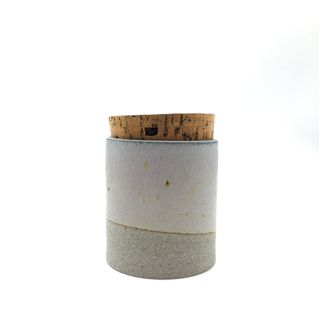 "Canister w/ Classic Cork | 4"" x 4"" 