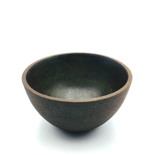 EB1-B-D | Enoki Bowl | Stillness Collection | Brownstone/Danish BRONZE | Humble Ceramics |