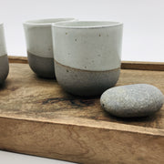 ATMB33-G-S | Alder Collection | Greystone/Snow White | Humble Ceramics |