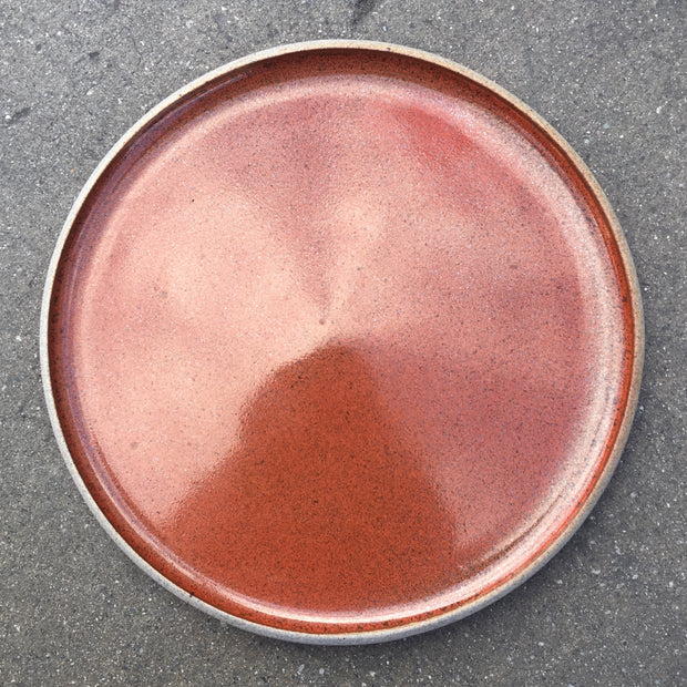 STP11-G-RUST | Stillness Plate | 11"