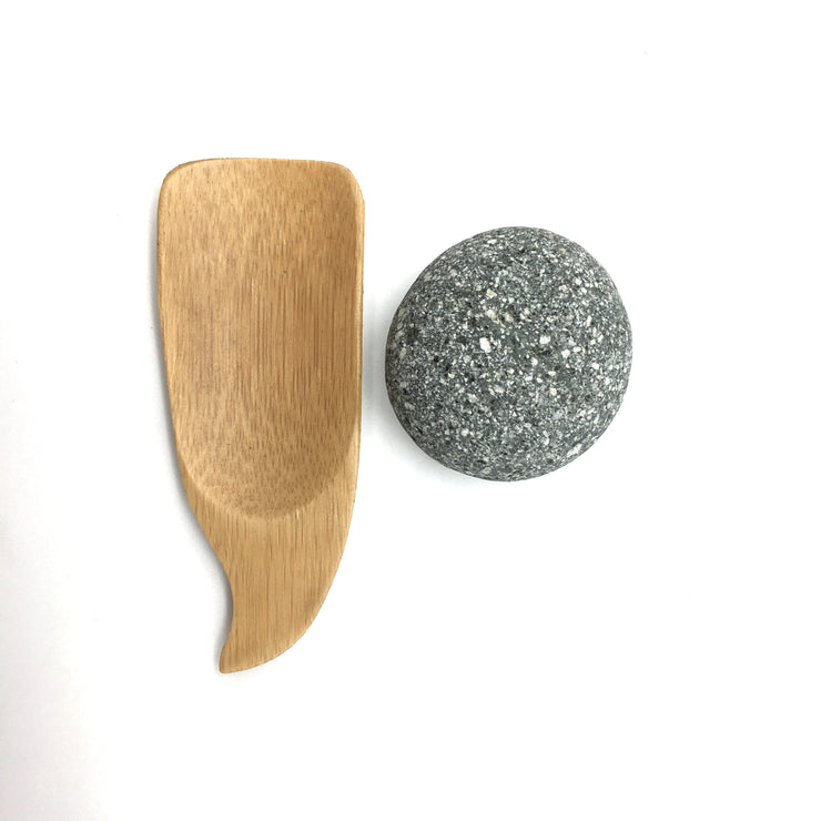 Mini Bamboo Scoop | 4""
