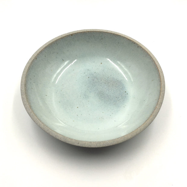 STB85-G-KBC | Stillness Bowl | Stillness Collection | Greystone/Korean Blue Celadon | Humble Ceramics |