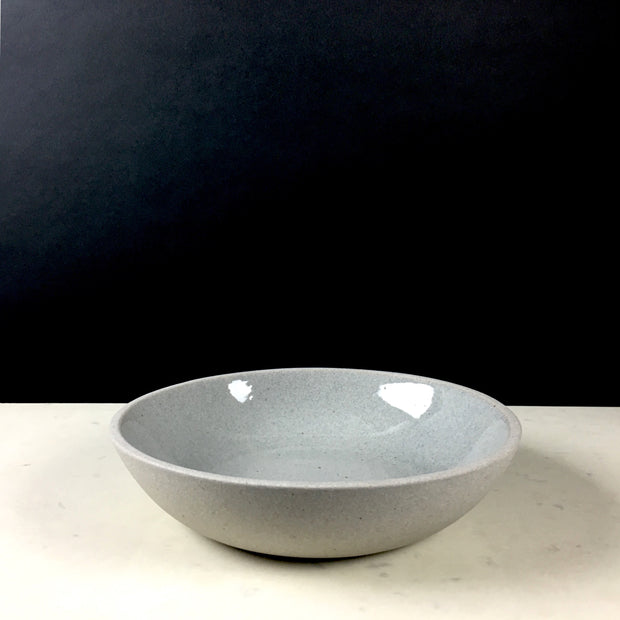 STB85-G-C | Stillness Bowl | Stillness Collection | Greystone/Clear Sky | Humble Ceramics |