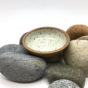 The Stillness SOS is like a mini version of the Stillness Bowl. Sandstone/Snow White is inspired by fallen snow on the Saharan desert.