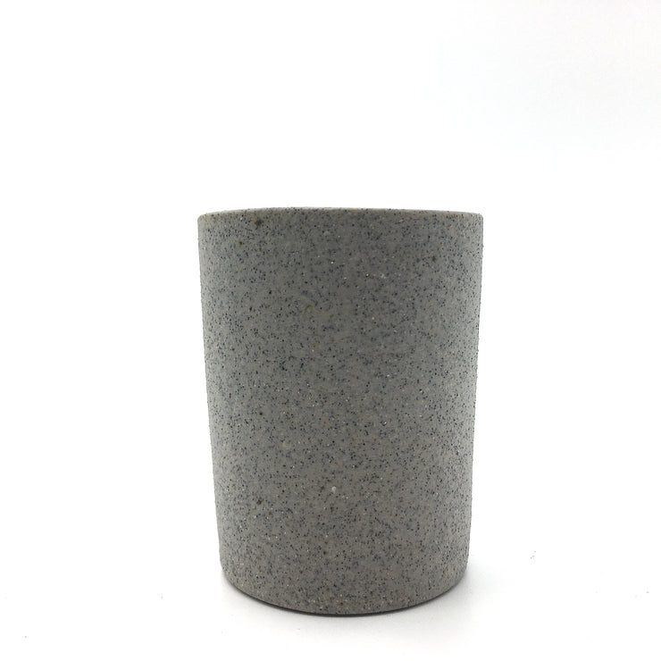 TMB2-G-RAW-BT | Tumbler 2 oz | Greystone/Raw | Humble Ceramics |