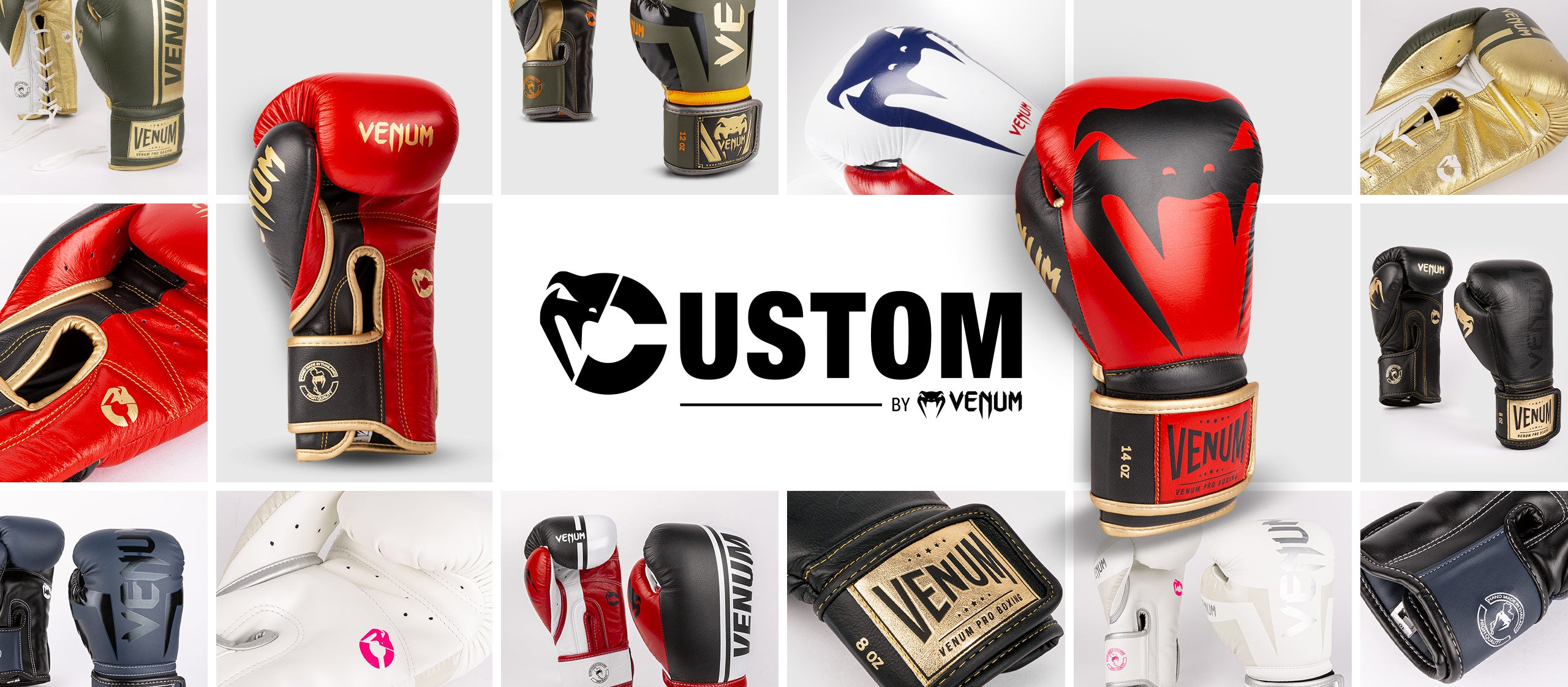 venum custom gloves