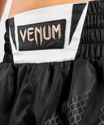 Venum Arrow Loma SIgnature Collection Boxing Shorts - Black/White picture 6
