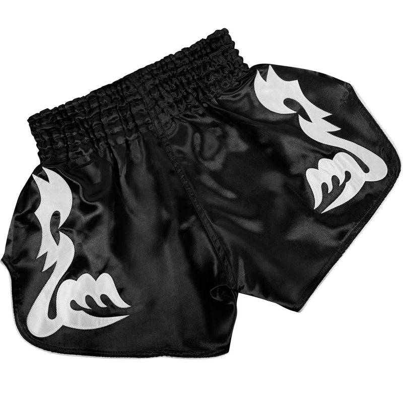 Venum Bangkok Inferno Muay Thai Shorts - Black/White picture 2