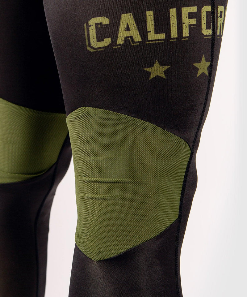 Venum Boxing Lab Compression Tights - Black/Green picture 6
