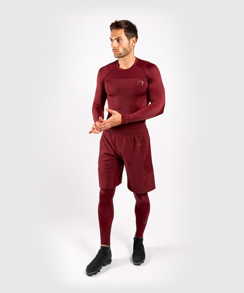 Venum G-Fit Rashguard - Long Sleeves - Burgundy picture 5