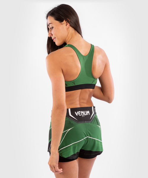 UFC Venum Authentic Fight Night Women's Sport Bra – Green Picture 2