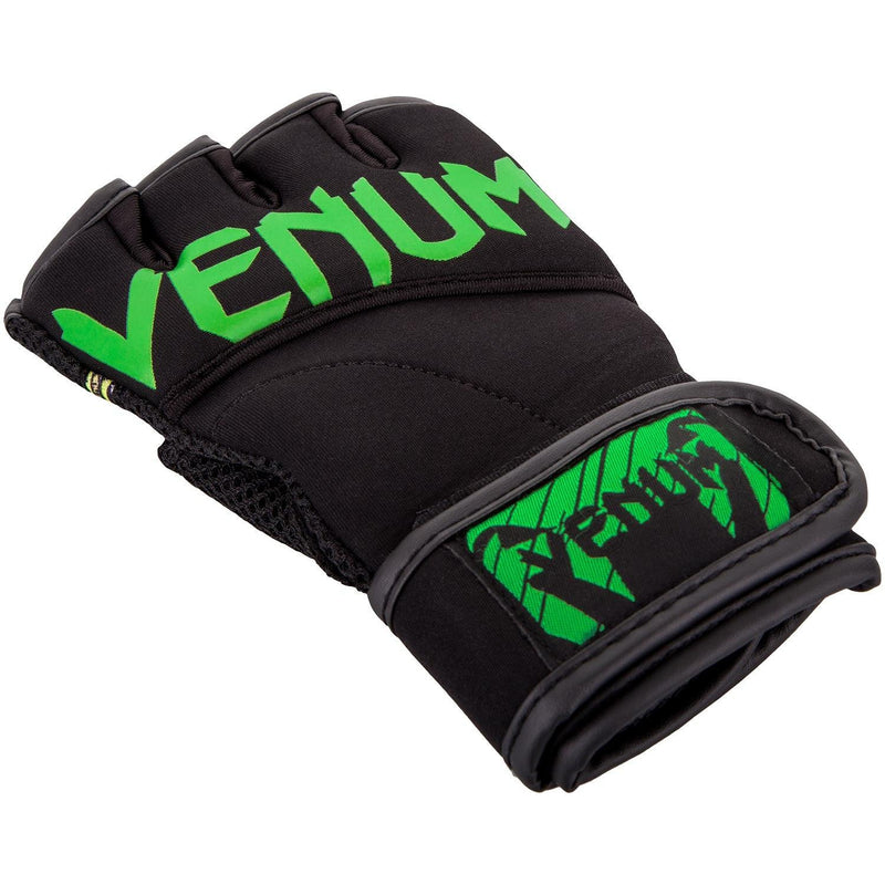 Venum Aero Body Fitness Gloves - Black/Neo Yellow picture 2
