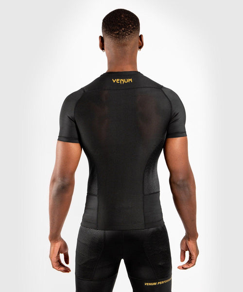 Venum G-Fit Rashguard - Short Sleeves - Black/Gold picture 2