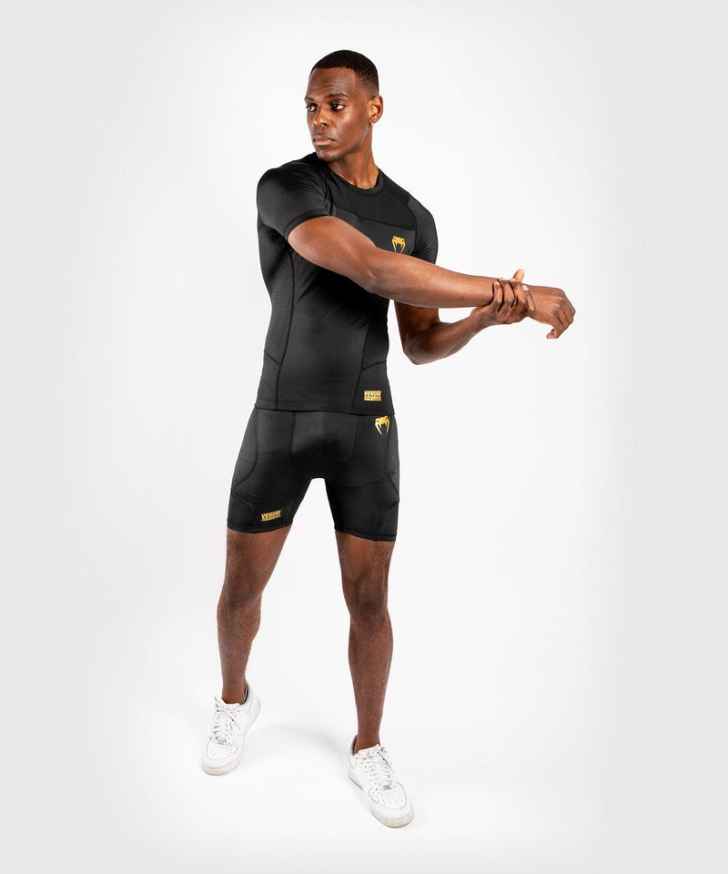 Venum G-Fit Rashguard - Short Sleeves - Black/Gold picture 8