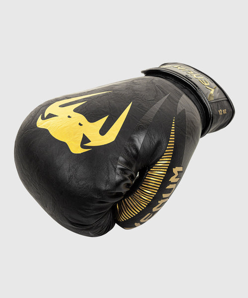 Venum Impact Boxing Gloves – Gold/Black picture 2