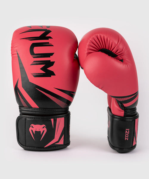 Venum Challenger 3.0 Boxing Gloves - Black/Coral picture 2