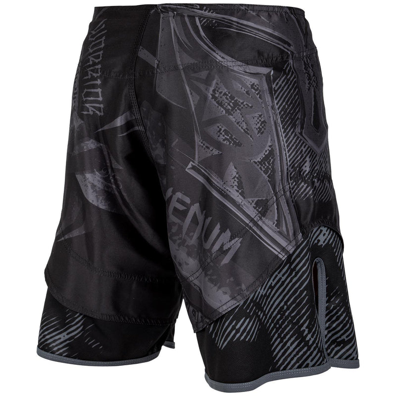 Venum Gladiator 3.0 Fightshorts – Black/Black picture 4