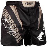 Venum Underground King Fightshorts – Black/Sand picture 2