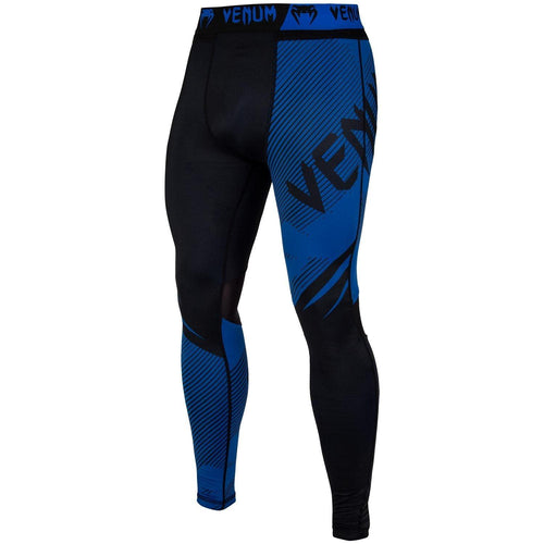 Venum NoGi 2.0 Spats – Black/Blue picture 1