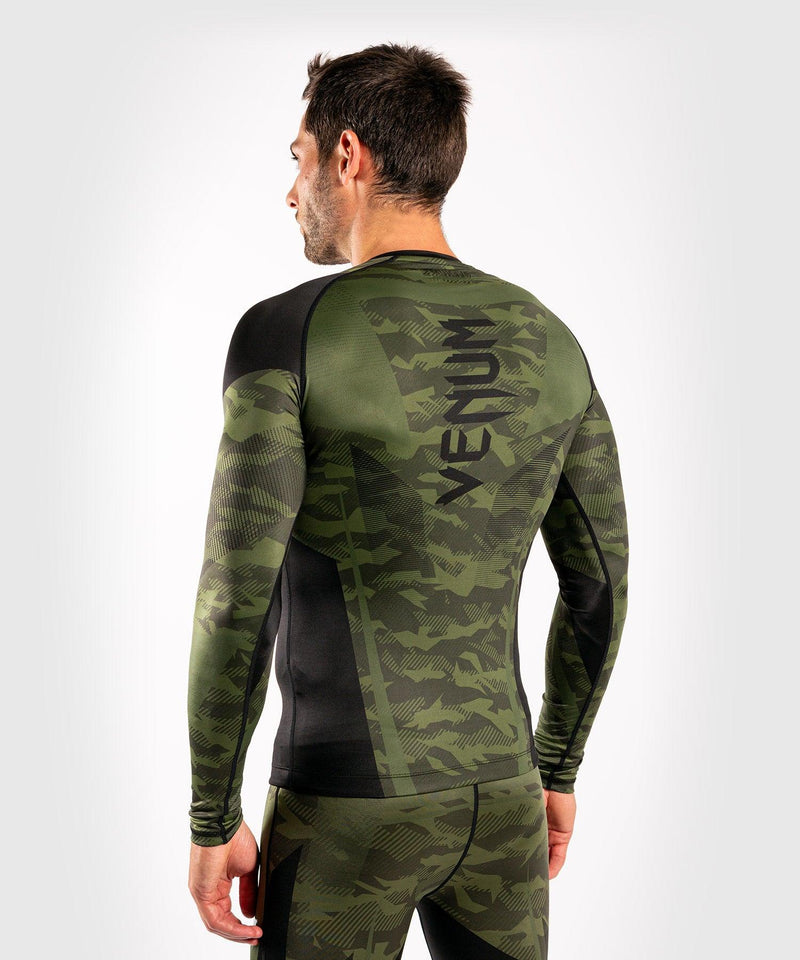 Venum Trooper Rashguard - Long sleeves - Forest camo/Black picture 7