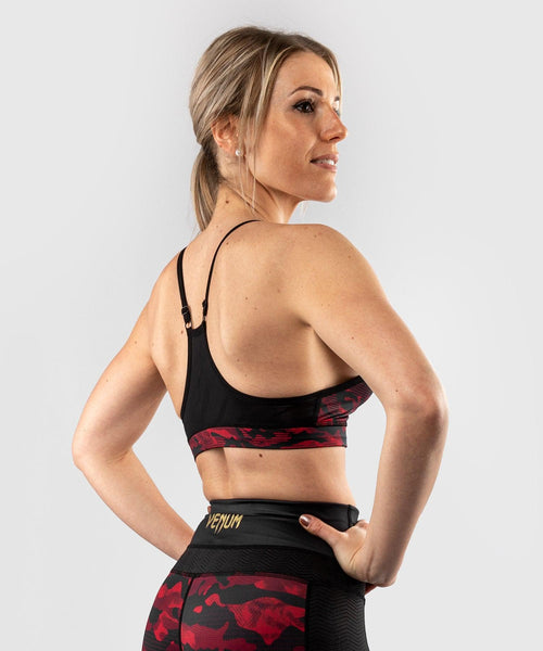 Venum Defender bras - for women - Black/Red picture 2
