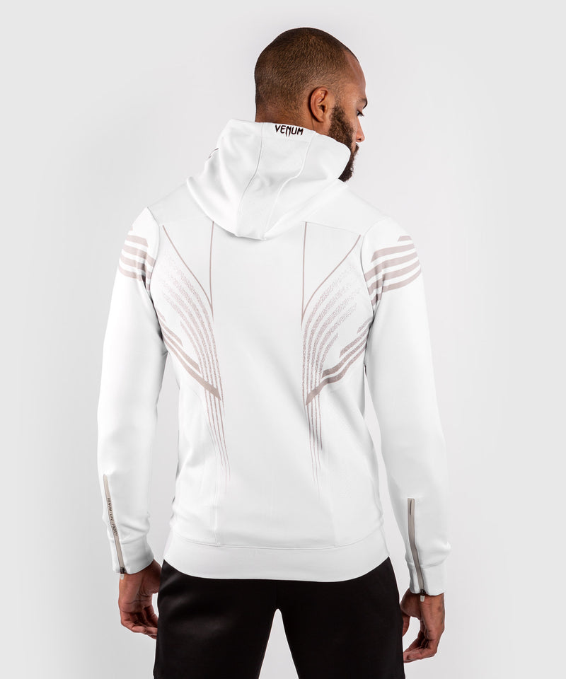 UFC Venum Authentic Fight Night Men's Walkout Hoodie – White Picture 2