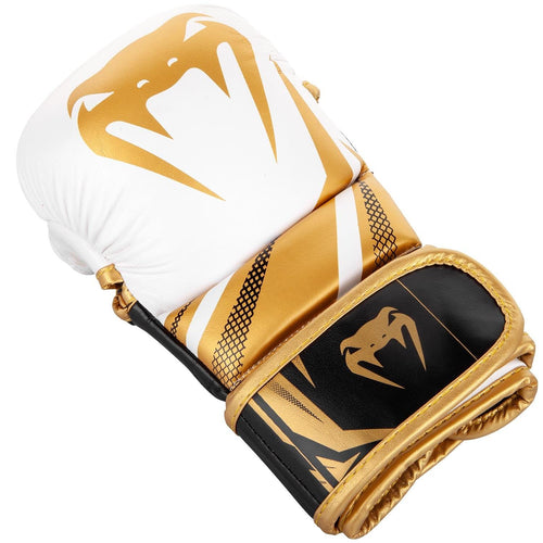 Sparring Gloves Venum Challenger 3.0 – White/Black/Gold picture 2