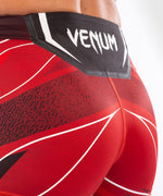 UFC Venum Authentic Fight Night Women's Vale Tudo Shorts - Short Fit – Red Picture 6