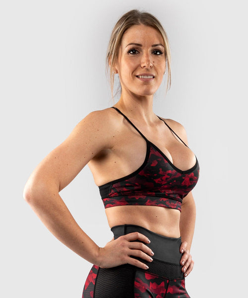 Venum Defender bras - for women - Black/Red picture 1