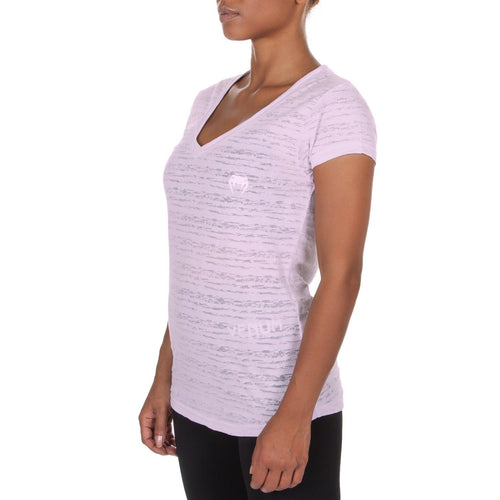 Venum Essential V Neck T-Shirt - Light Lilac picture 1