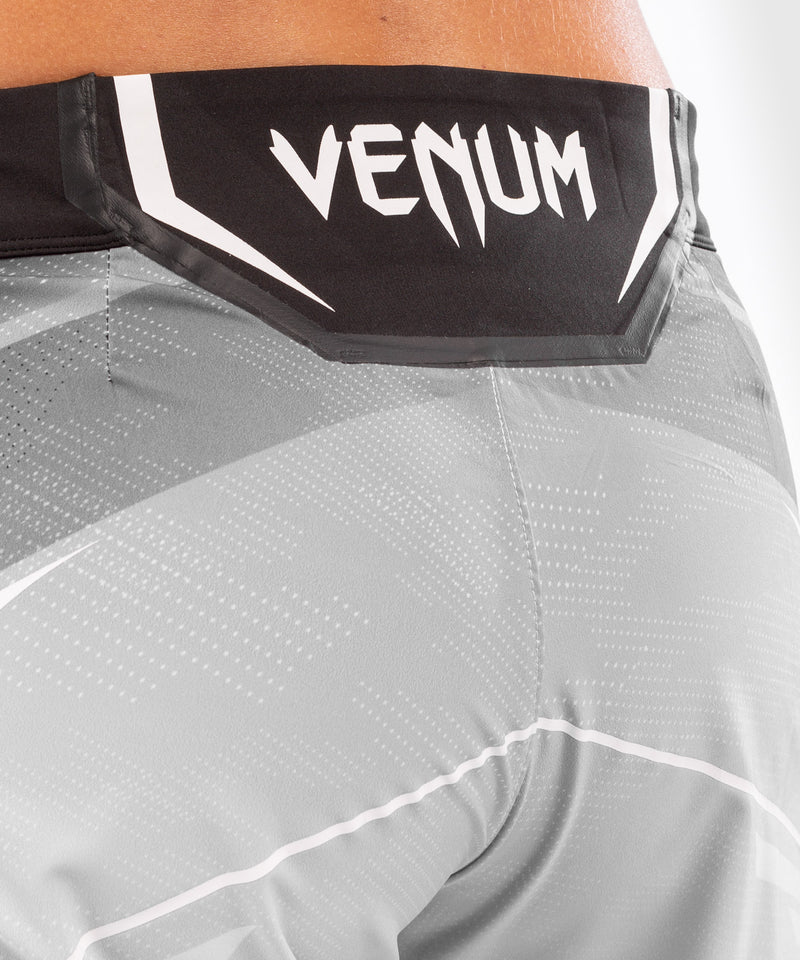 UFC Venum Authentic Fight Night Women's Shorts - Long Fit – White Picture 6