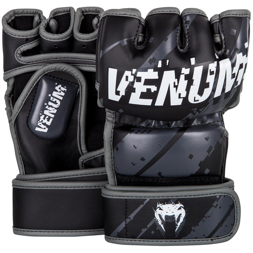 Venum Pixel MMA Gloves – Black/Grey picture 1