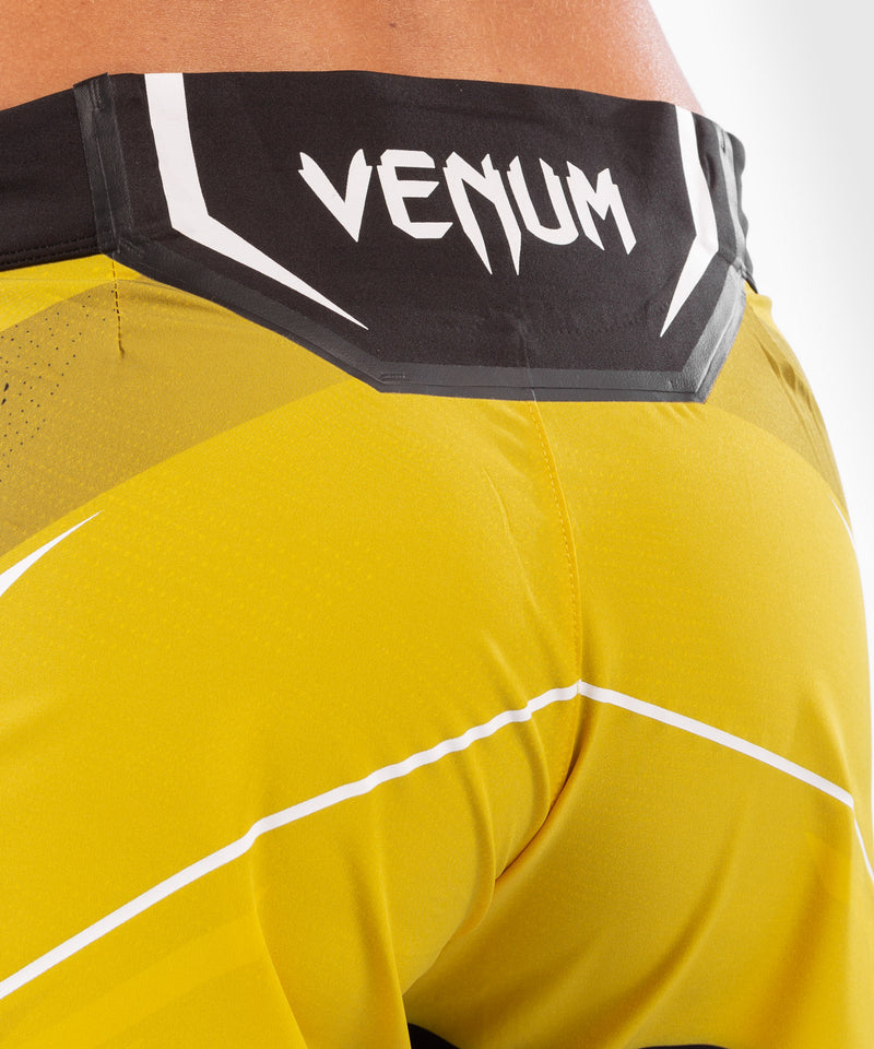 UFC Venum Authentic Fight Night Women's Shorts - Long Fit – Yellow Picture 6