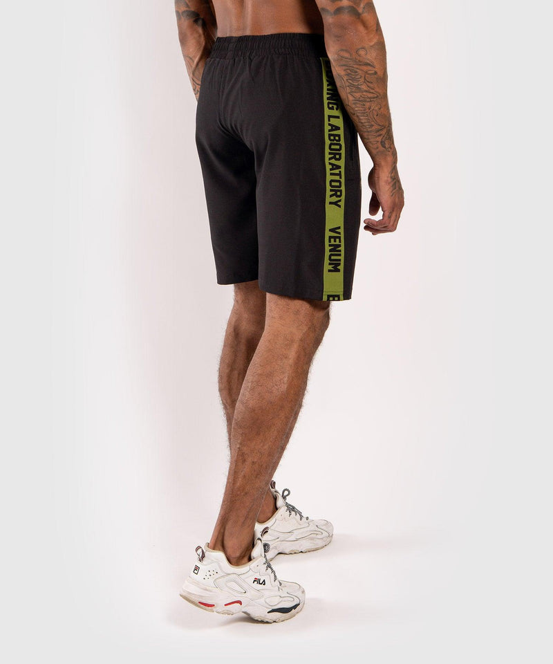 Venum Boxing Lab Fightshorts - Black/Green picture 4
