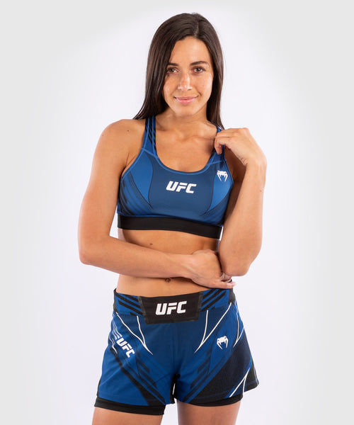 UFC Venum Authentic Fight Night Women's Sport Bra – Blue Picture 1