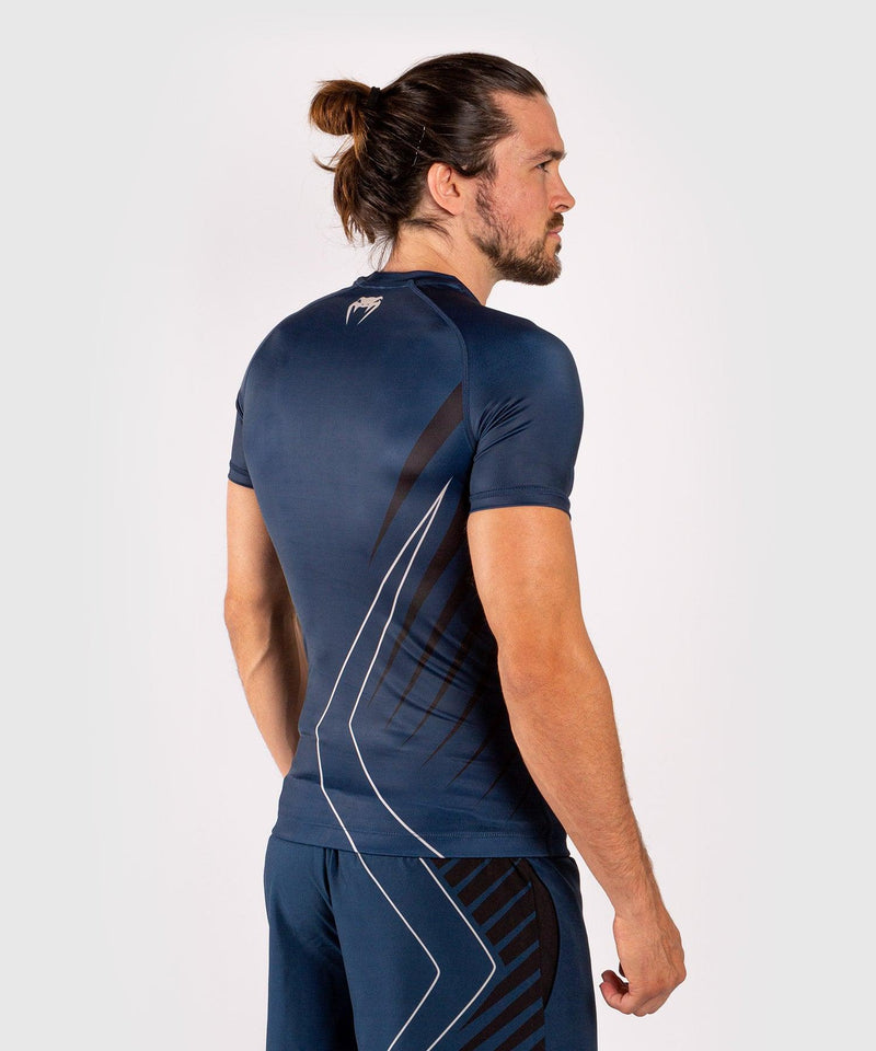 Venum Contender 5.0 Rashguard - Short sleeves - Navy/Sand picture 5