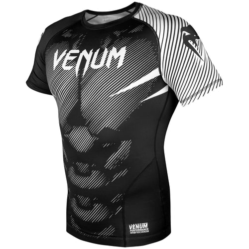 Venum NoGi 2.0 Rashguard - Short Sleeves – Black/White picture 2