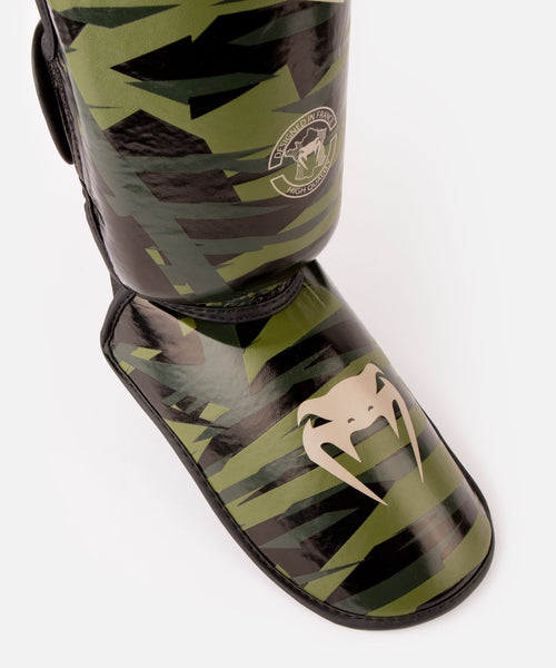 Venum Contender 2.0 Shin Guards - Khaki camo picture 2