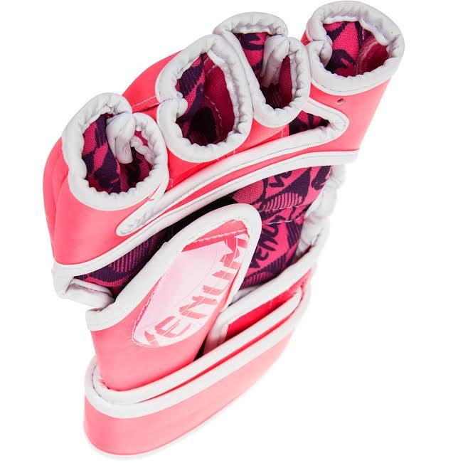 Venum Undisputed 2.0 MMA Gloves - Pink/White picture 4