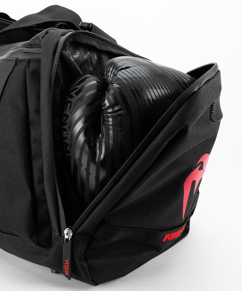Venum Trainer Lite Evo Sports Bags - Black/Red picture 9