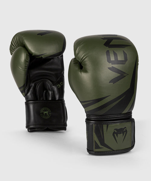 Venum Challenger 3.0 Boxing Gloves - Khaki/Black picture 1