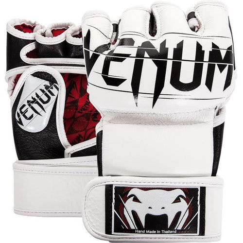 Venum Undisputed 2.0 MMA Gloves - Nappa Leather – White picture 1