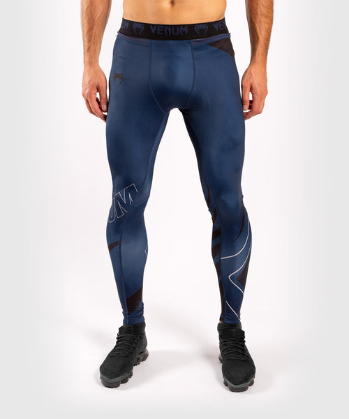 Venum Contender 5.0 Tights - Navy/Sand picture 1