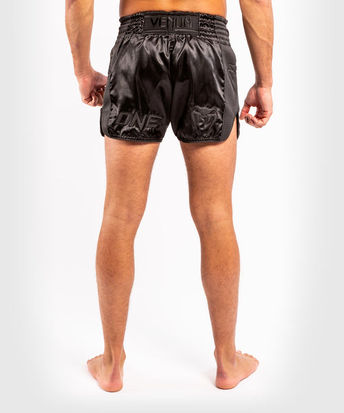 Venum ONE FC Impact Muay Thai Shorts - Black/Black - picture 2